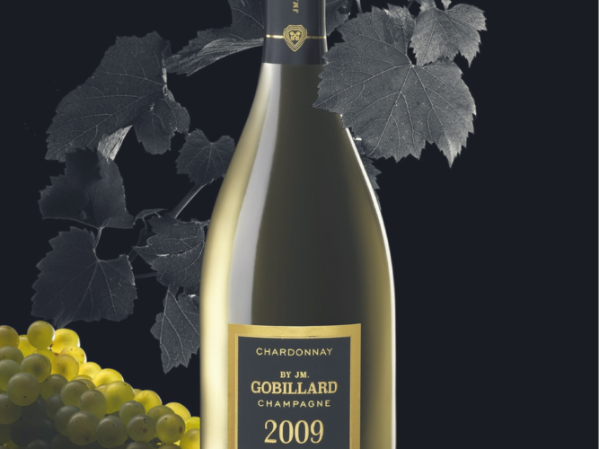 Champagne Millesime chardonnay